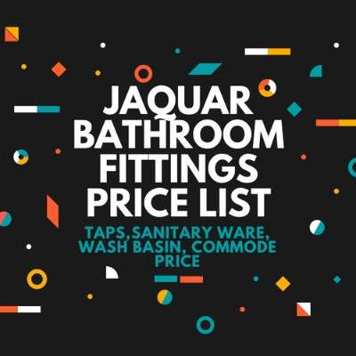 Price List Jaquar Fittings
