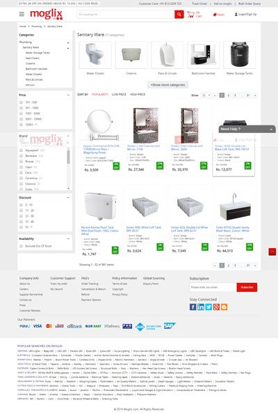 10 Sanitaryware Online Shopping Website to Buy in India 11