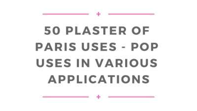 plaster paris uses