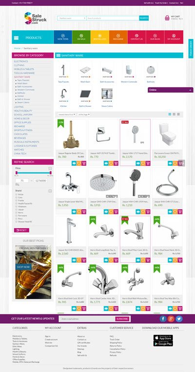 10 Sanitaryware Online Shopping Website to Buy in India 12