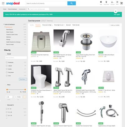 10 Sanitaryware Online Shopping Website to Buy in India 10